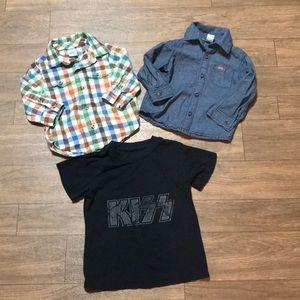 Other - Baby Shirt Bundle 12-18M Gymboree, Carter's EUC